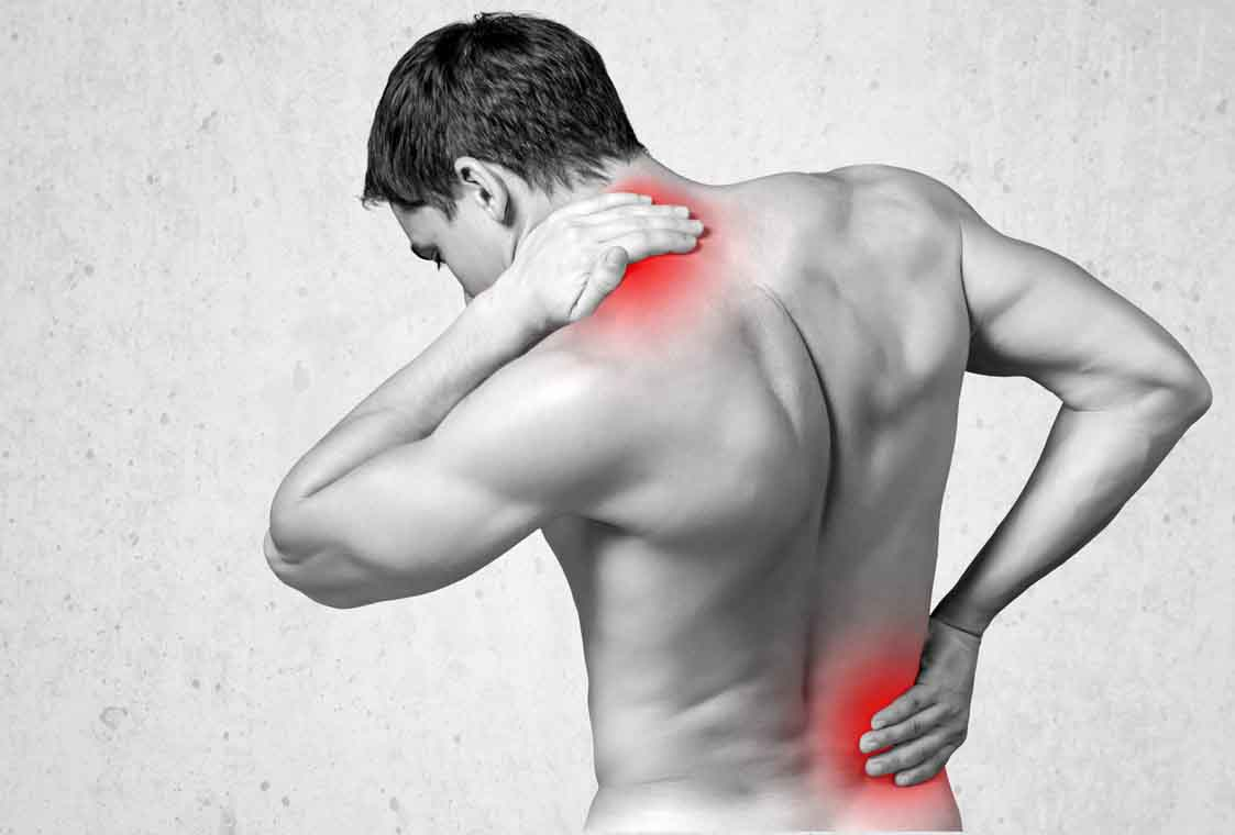 Nackenschmerzen, Lendenwirbelschmerzen Rückenschmerzen