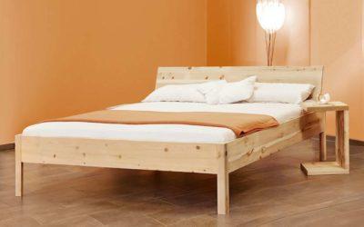 Zirbenholzbett Zirbenschlaf