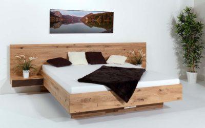 Massivholzbett Turin