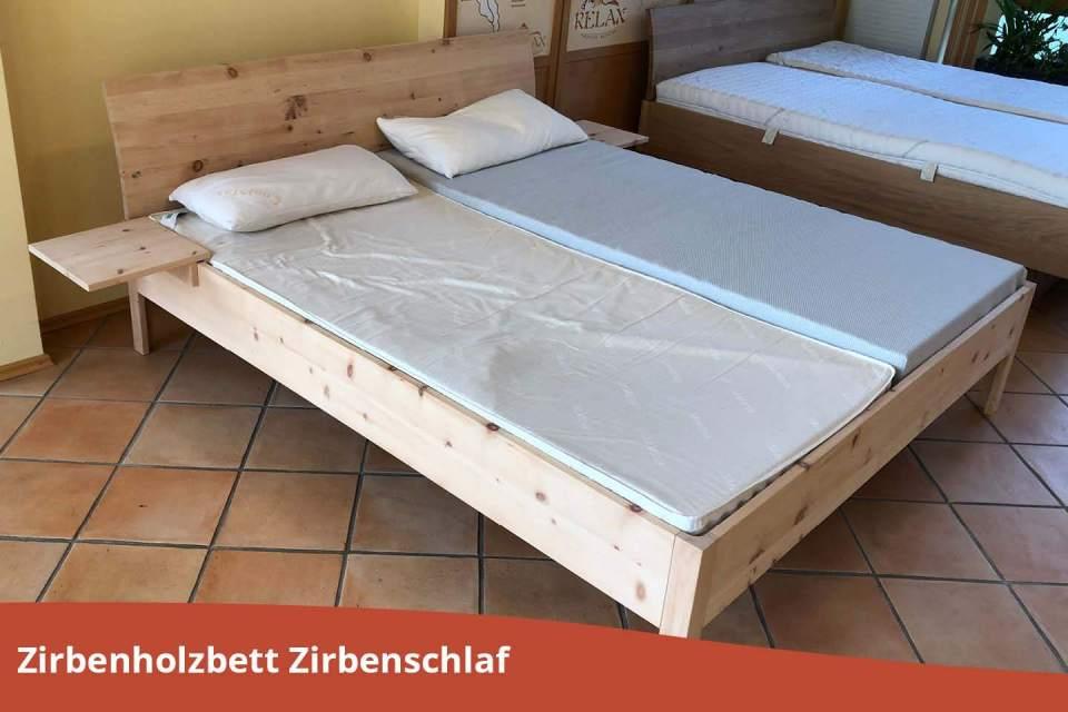 Abverkauf Zirbenholzbett Zirbenschlaf