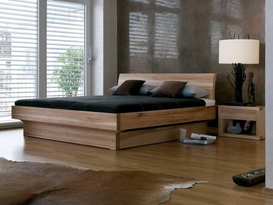 Holzbetten mit Stauraum - Bett Morell mit Bettkasten