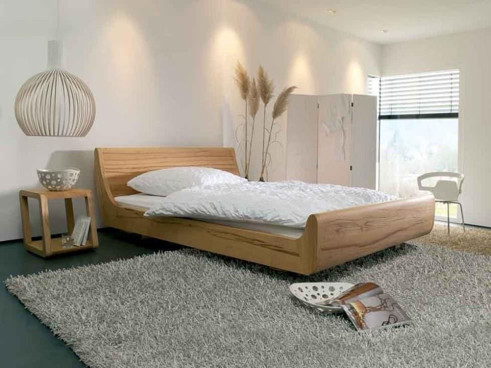 Massivholzbett Mola - Auch als Holzbetten mit Bettkasten