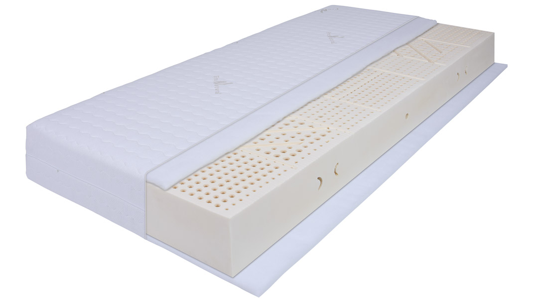 Latexmatratze Aus 100 Naturlatex Perfekter Schlaf Und Körperanpassung