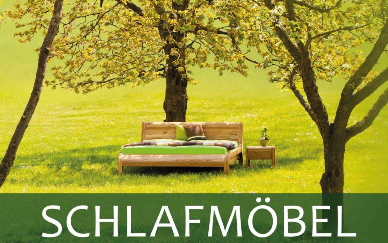Katalog Massivholzbetten und Schlafmöbel in allen Holzarten
