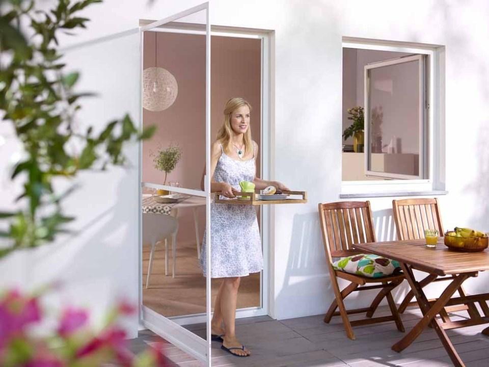 Fliegengitter Tür für Ihre Balkontüre