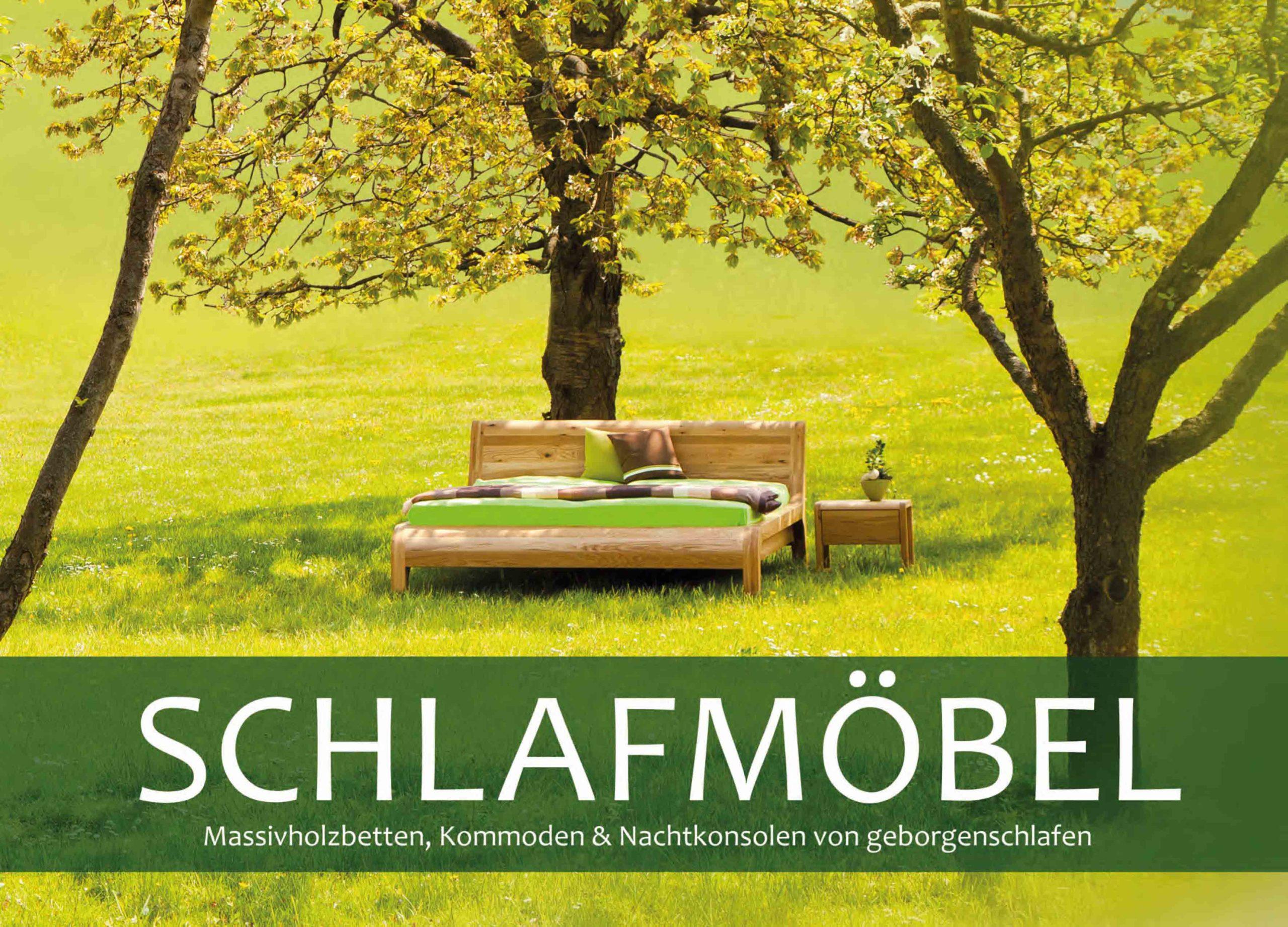 Katalog Massivholzbetten in allen Holzarten