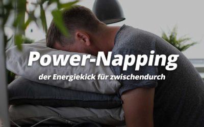 Powernapping der Energiekick für zwischendurch