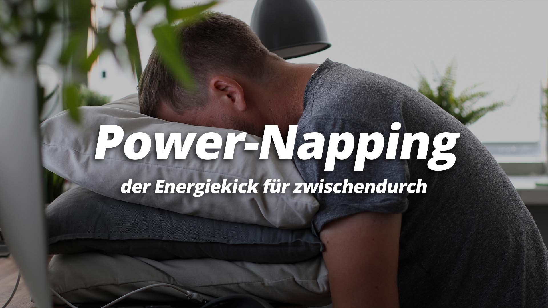 Power Napping der Energiekick für zwischendurch
