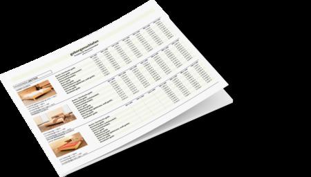 Preisliste unserer meistverkauftesten Massivholzbetten, Kommoden und Nachtkästchen