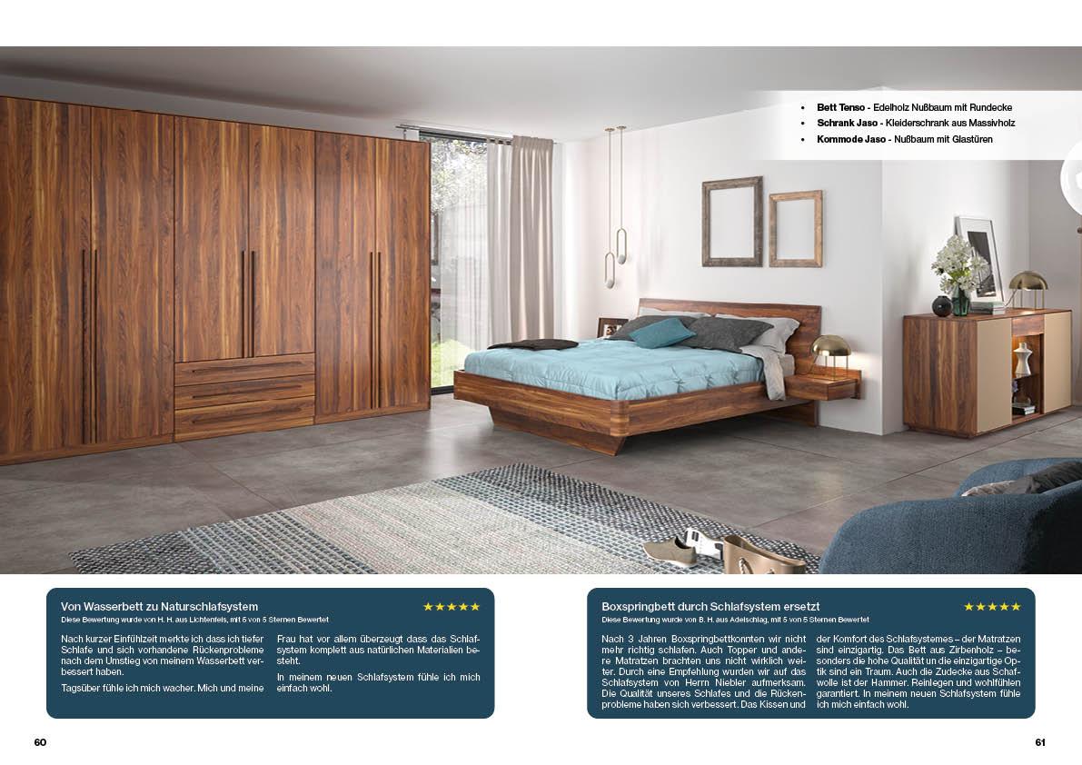 schlafzimmer-nussbaum-bett-kommode-massivholz