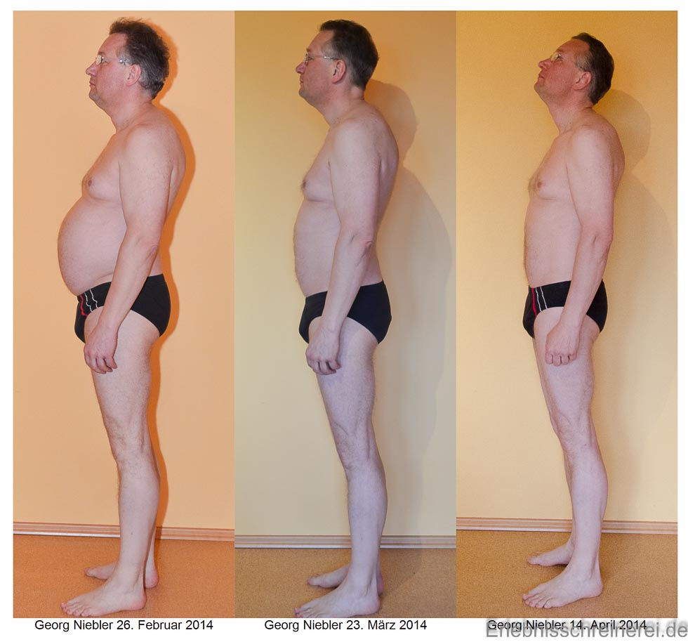 Stoffwechselkur Bilder vorher nachher