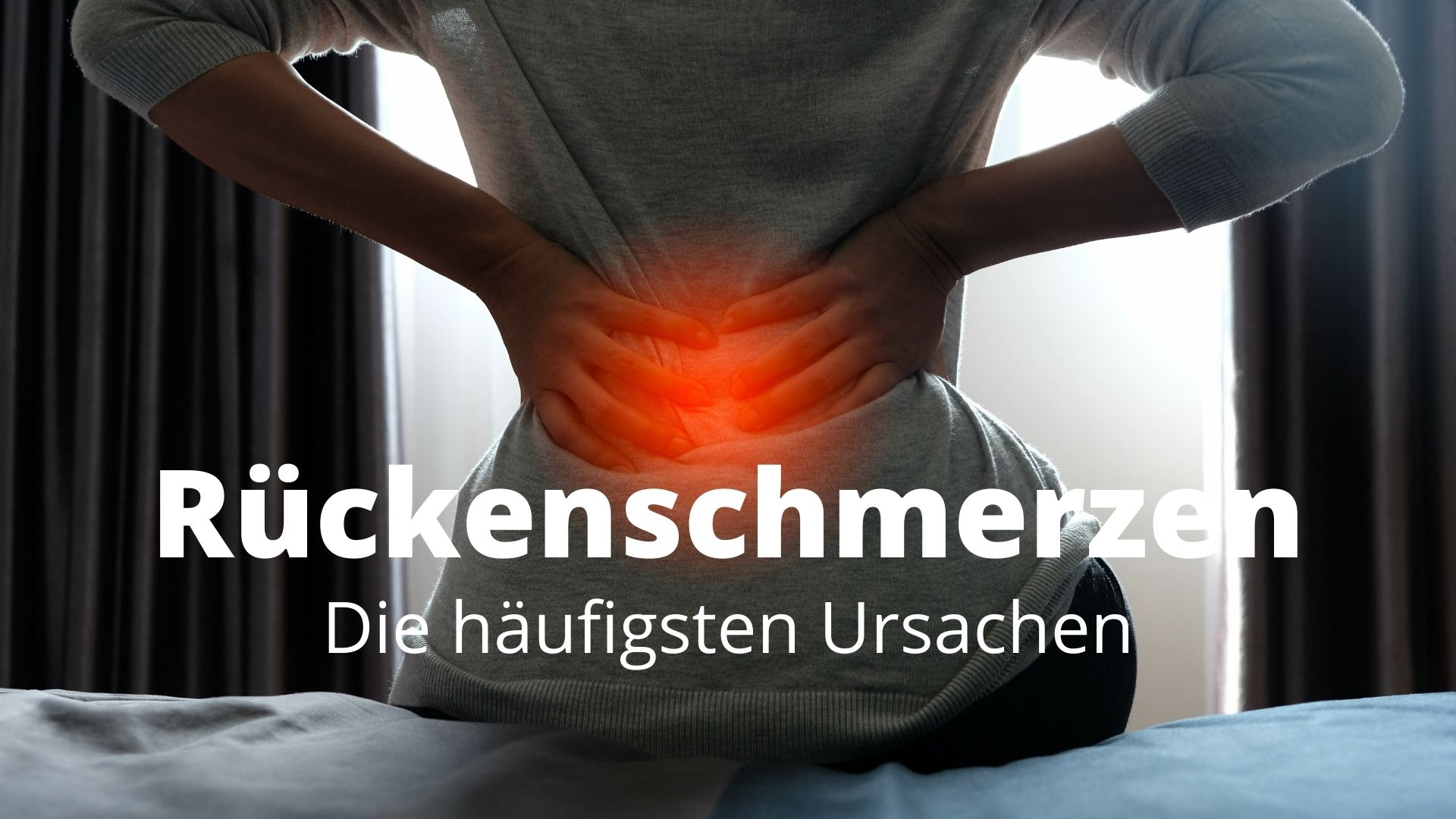 Was ist die Ursache von Rückenschmerzen