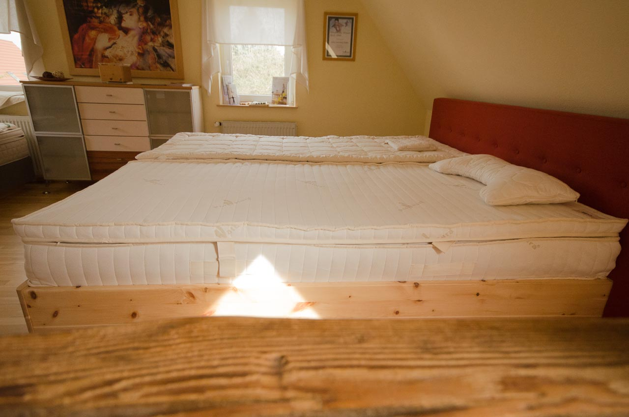 Woodspring - Der Topper - Purer Luxus für himmlische Schlafgefühle.