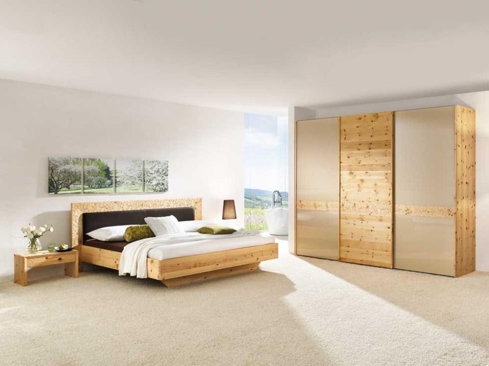 Schlafzimmer Massivholz Zirbenholz
