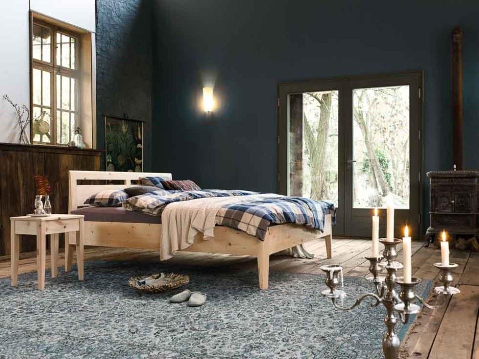 Zirbenholzbett Kalmera für besseres Schlafen